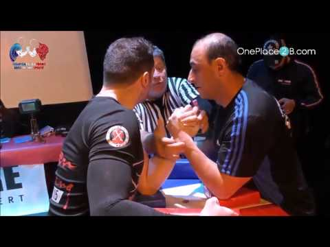 Jérôme - Championnat de France de bras de fer sportif 2017