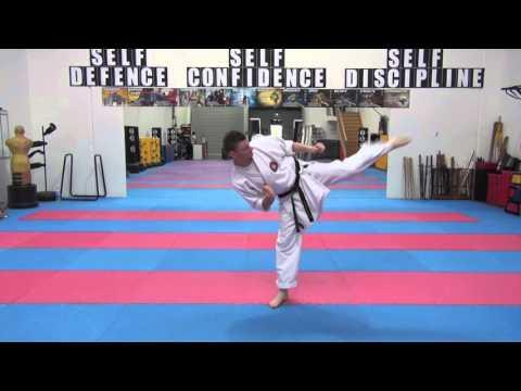 Purple Belt Training Tenshi Do Martial Arts
