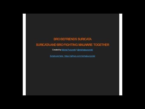 Bro Befriends Suricata by Michal Purzynski