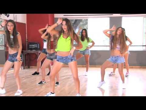"""Coreografia da Música """"Dança Kuduro"""" (vista frontal) / TKM Brasil"""