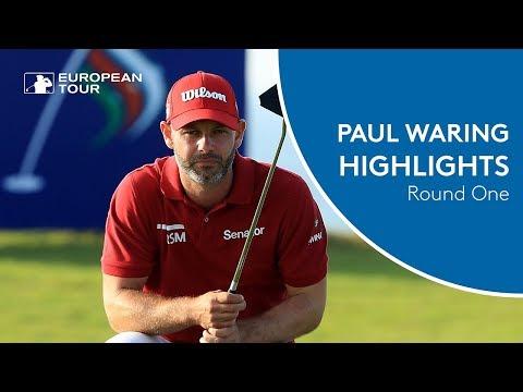 Paul Waring Shoots 65 | Round 1 | 2018 NBO Oman Open