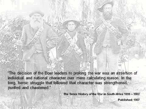 Quotes on the Anglo Boer War 1899-1902