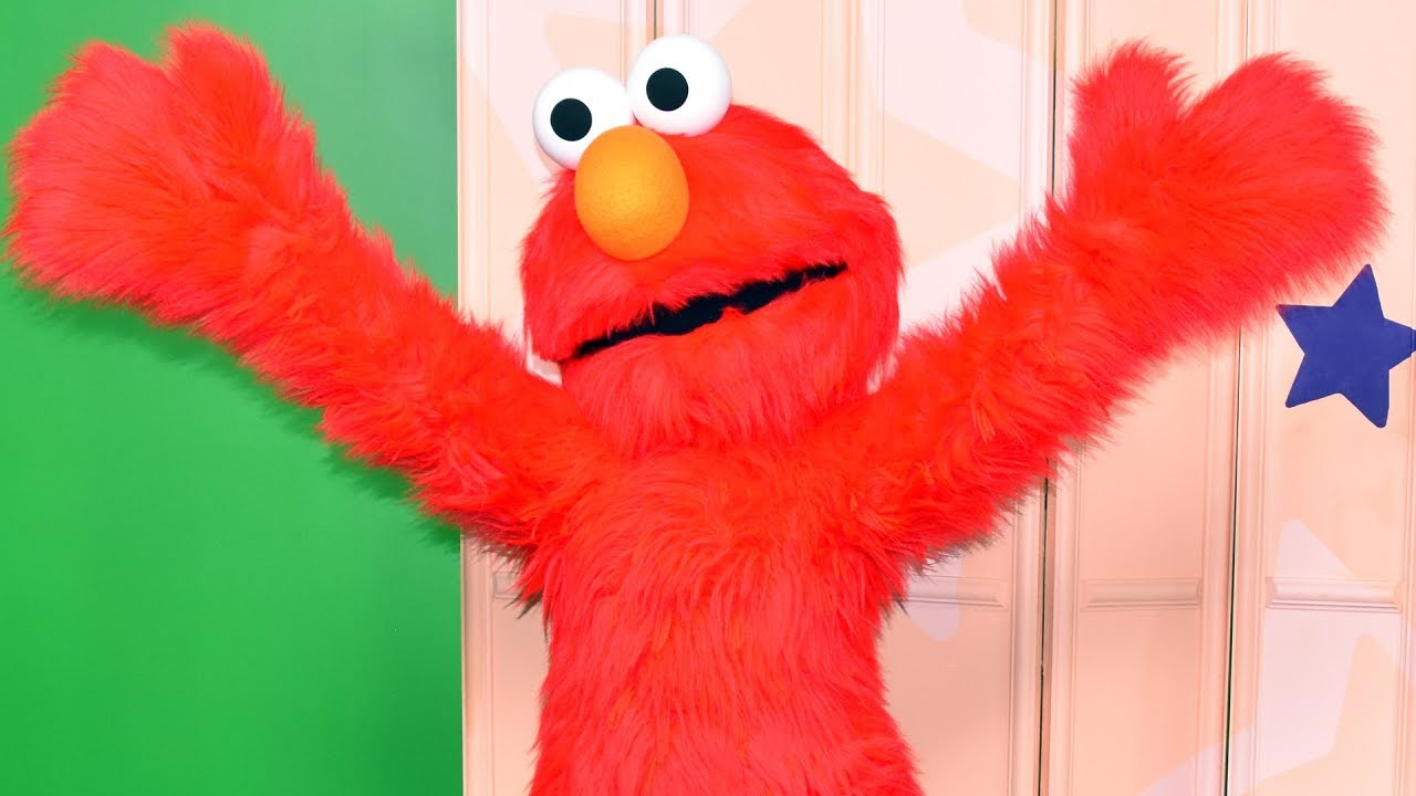 Elmo at Sesame Street, SeaWorld Orlando - Special Media Welcome
