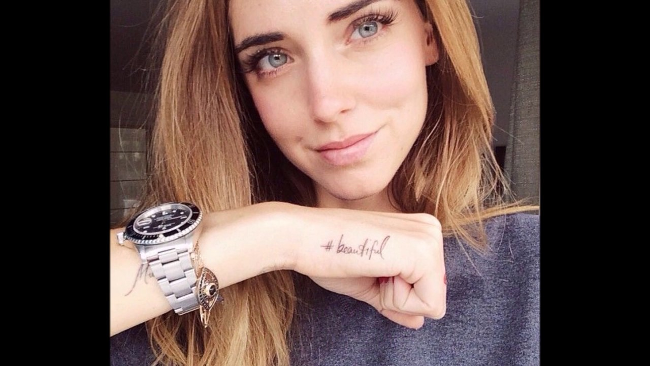 Chiara Ferragni Tattoos And Its Meanings Youtube