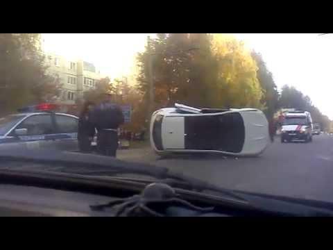 Авария в Ставрополе 18.10.2013 ул 50лет ВЛКСМ