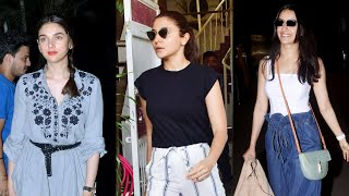 Download Anushka Sharma, Shraddha Kapoor, Aditi Rao Hydari and others SPOTTED in the city Mp3 and Videos