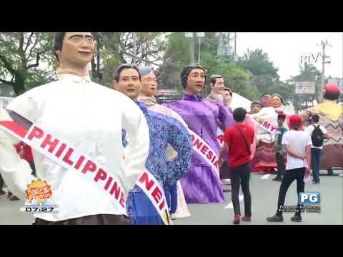ASEAN TV: Landmark lighting at Grand Parade ng ASEAN 50th Anniversary