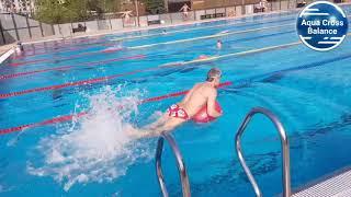 Плавание-уравляй свободой! Аквакомплекс Лужники! Aqua Cross Balance+плавание !!!!