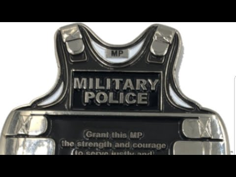 Military Police And Firefighter Challenge Coin Review