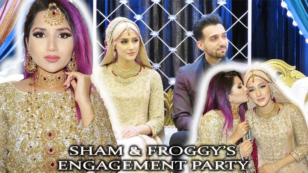 GRWM for SHAM & FROGGY's ENGAGEMENT - Video - ViLOOK