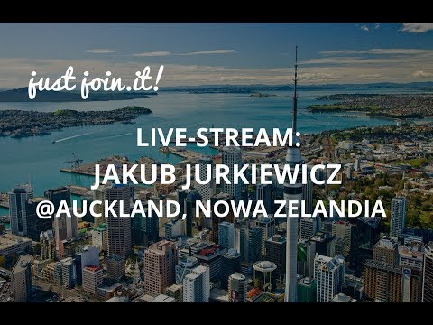Just Join IT – Live Stream: Jakub Jurkiewicz @Orion Health. Auckland, Nowa Zelandia