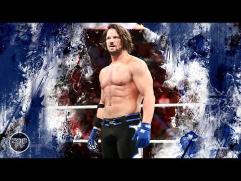 2016: AJ Styles 1st & New WWE Theme Song  Phenomenal iTunes Release + Download Link ᴴᴰ