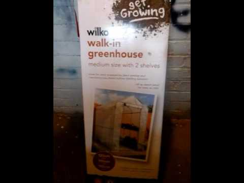 Wilko walk in green house staging large | wilko.