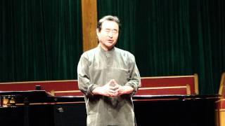 고향의 푸른잔디:테너 박 인수 교수, 피아노 안 정희