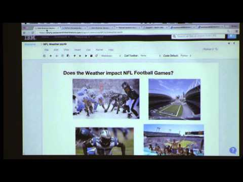 Seattle Data Science Meetup @Galvanize (2016-01-06) Analyzing NFL Wins Losses and weather w/ Spark