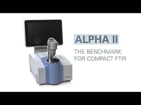 Bruker FTIR Spectrometer ALPHA II: Combining ease in use with high performance