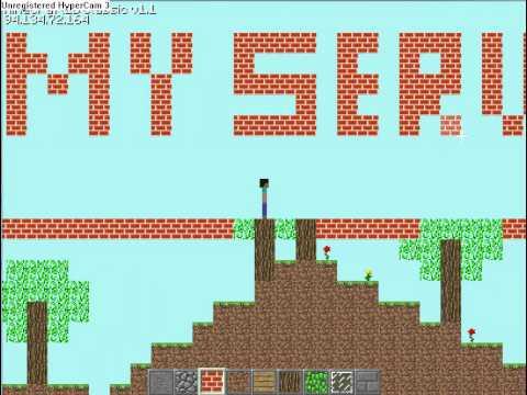 Minecraft 2D Server