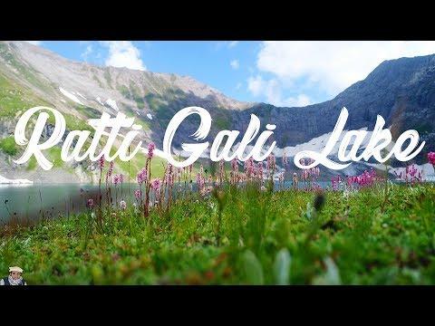 Ratti Gali Lake Drone Video The Lake of Dreams Neelam Valley  AJK  Pakistan