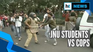 JNU students vs police again: Clashes, lathicharge amid march to President
