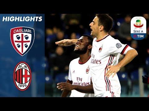 Cagliari - Milan 1-2 - Giornata 21 - Serie A TIM 2017/18