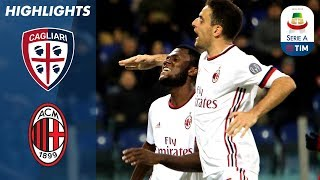 Cagliari - Milan 1-2 - Highlights - Giornata 21 - Serie A TIM 2017/18 streaming