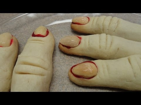 Halloween Party Treats: Severed Fingers