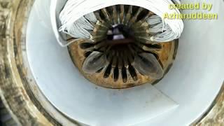 submersible 1 hp single phase rewinding water feild