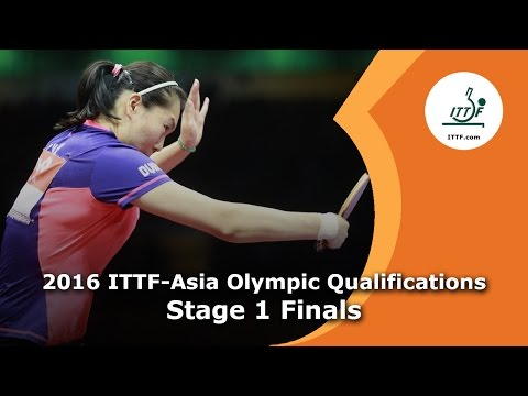 2016 ITTF-Asia Olympic Qualification - Stage 1 Finals
