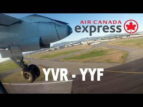 Air Canada Express - Vancouver to Penticton