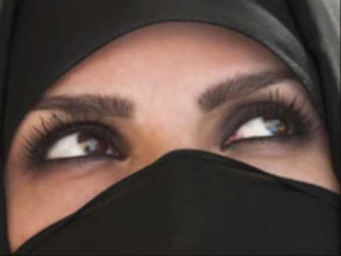 Die verborgene Schönheit einer muslimischen Frau
