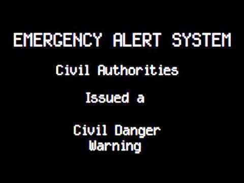 Emergency Alert System: Zombie Apocalypse in the U.S.