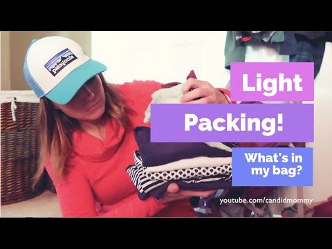 Light Packing For Two Weeks In Australia!  ((what's in my bag??))