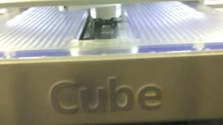Cube 3 3D printer review!!
