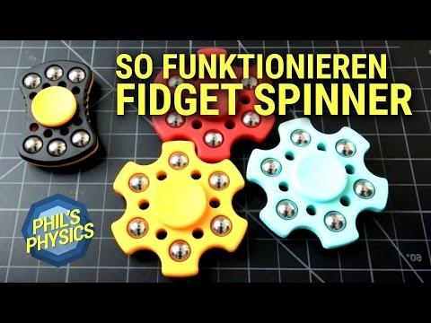 Fidget Spinner Tricks - so funktioniert es! Pimpt euer Gadget mit Physik - DEUTSCH | Phils Physics