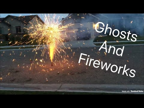 Creepy Ghosts Sabotage Our Firework Show!!! 4th Of July Coming! Summer Fun! Haunted! Ghost Story