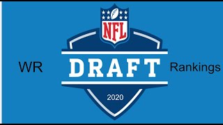 2020 NFL Draft WR Rankings