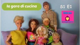 Barbie show-Una famiglia imperfetta S1E1:La gara d cucina(cooking competition)