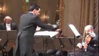 Mario Merigo dirige la Serenata notturna KV 239 di Mozart