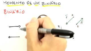 Me Salva! ESM03 - Princípio dos Momentos (Varignon), Momentos de Binários e Binário Equivalente thumbnail