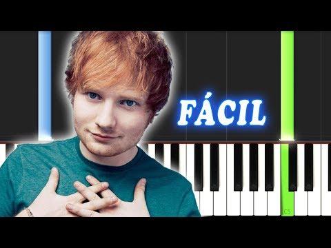 Perfect / Ed Sheeran / FACIL / Piano Tutorial