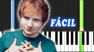 Perfect / Ed Sheeran / FACIL / Piano Tutorial