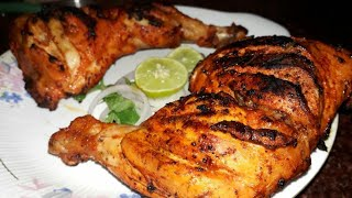 Tandoori Chicken Without Oven || Arshiya