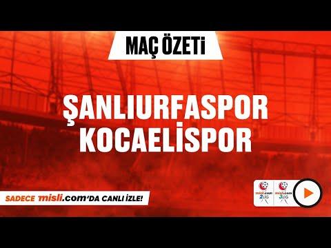 17.01.2021   Şanlıurfaspor 1-1 Kocaelispor  MisliTV