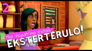Mia Vicpatrino Estas Eksterterulo! – 02 (Esperanto 🔸 Rachel's Conlang Channel)