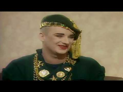 Boy George and Roger Cook - Interview 1987