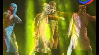 «12 мюзиклов». Красочное музыкальное шоу прошло в Русском театре столицы