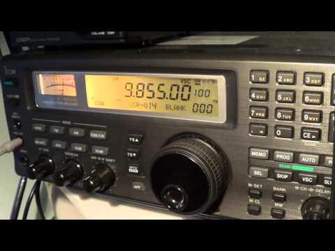 Radio Japan french via Madagascar on Icom IC R8500 November 12th 2015