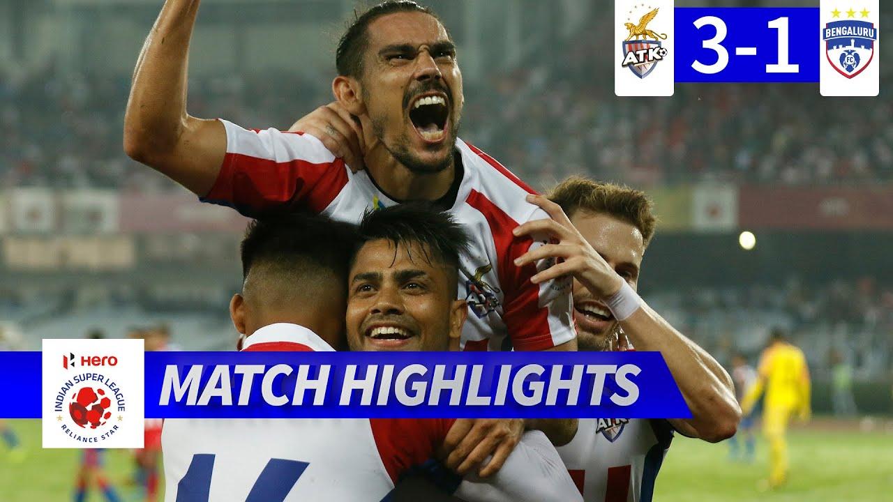 ATK FC 3-1 Bengaluru FC (Agg: 3-2) | Hero ISL 2019-20 Semi-Final 2 (2nd Leg) Highlights