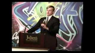 Banksy Auction! Auctioneer Michael Doyle Sells Street Art at Julien's Auctions