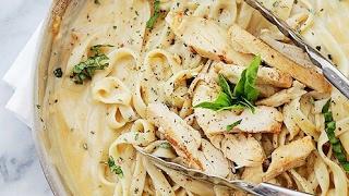 طريقة عمل الفوتيشيني || الفيتوتشيني الإيطالية || الفيتوشيني سفرة رمضان 3|| fettuccine with chicken